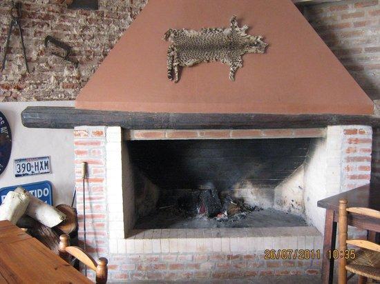 Extractor De Baño Ruidoso:Foto de La Posta de Vagues, San Antonio de Areco: Estufa a leña
