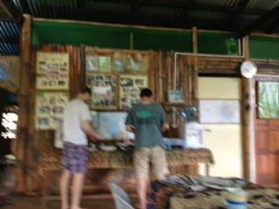 Sumbiling Eco Village: breakfast time