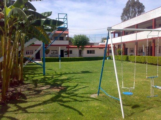 La Paloma: jardin