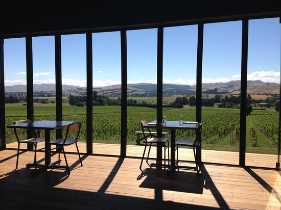 Black Estate Wine: room with a view
