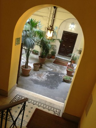 Hotel Navona: Entrance