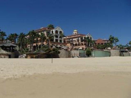 Sheraton Grand Los Cabos Hacienda del Mar: Resort from Beach