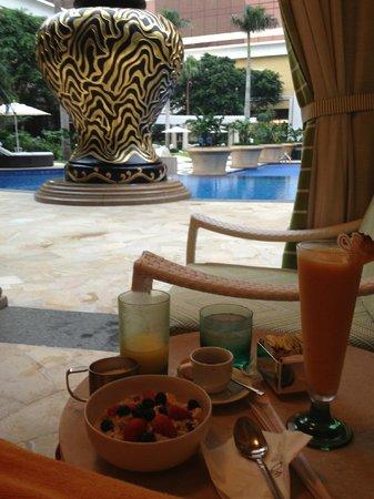 Wynn Macau: Cabana mit Pool