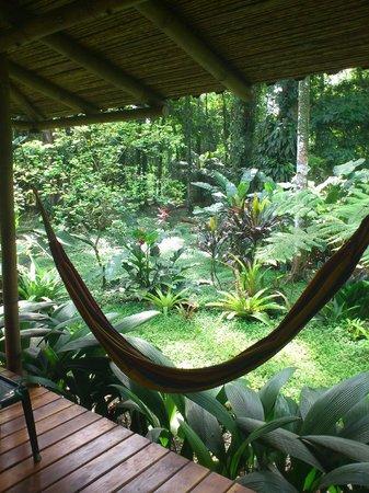 Casa Faya Lobi: Vista desde el deck