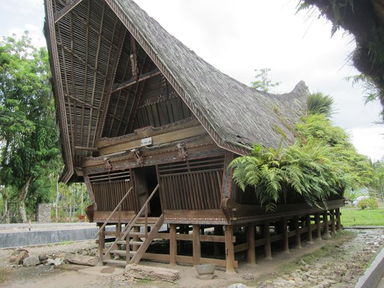 Samosir, Indonesia: The Simanindo museum
