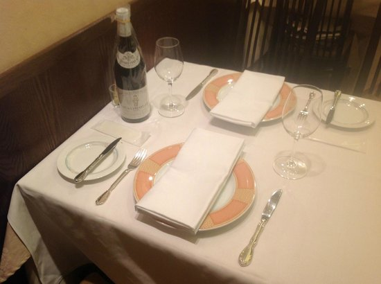 Table Setting - Picture of French Restaurant Kazama, Sapporo ...