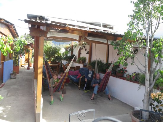 The Yellow House : Roof top hang out spot