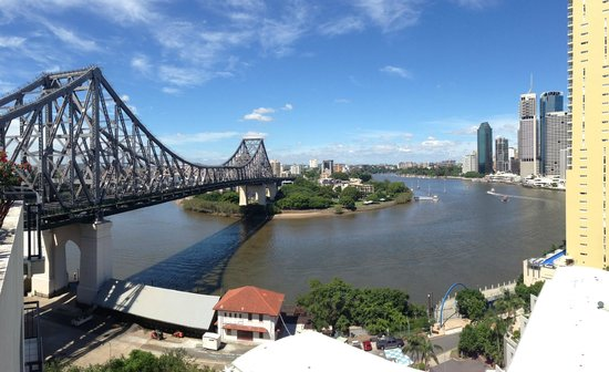 Adina Apartment Hotel Brisbane: Great View