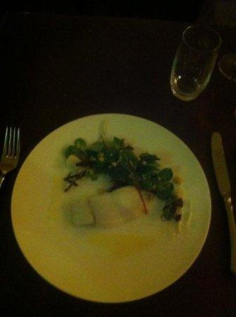 le Virage : tiny fish portion