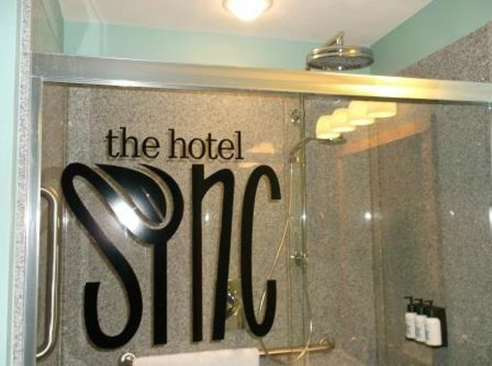The Hotel SYNC: Shower