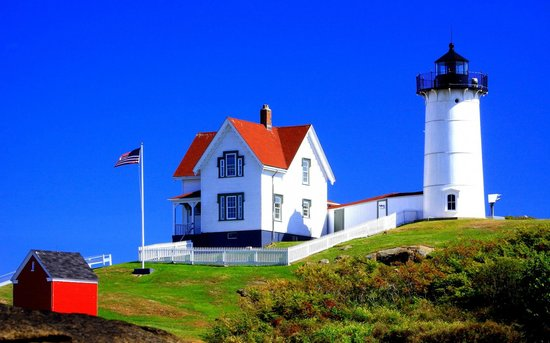 York, ME : Nubble Lighthouse, Maine