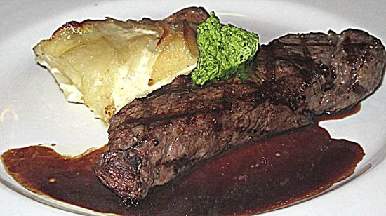 Steak And Potatoes Picture Of South Park Cafe San Francisco