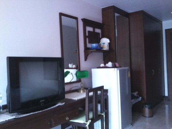 Sakorn Residence & Hotel: mise à disposition dans ma chambre à Sakorn Residence