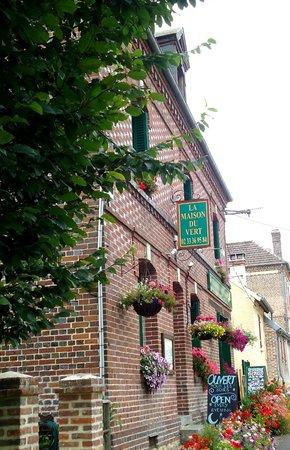 La Maison du Vert : Front Entrance