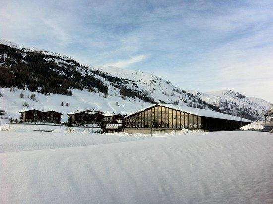 Hotel Il Fraitevino : Vue de la terrasse