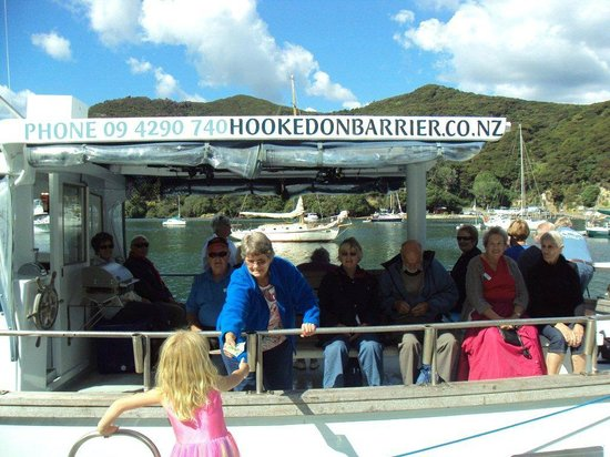 Go Great Barrier Island - Day Tours: A donation for Glenfern Sanctuary