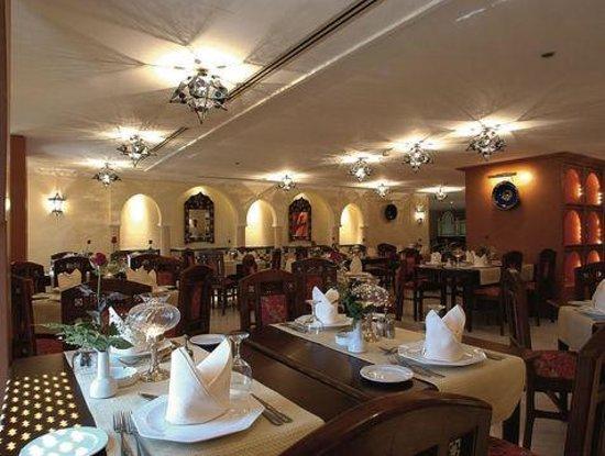 Moroccan Restaurant at Movan pick Hotel Photo