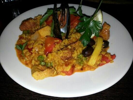 Fish Dish: my paella