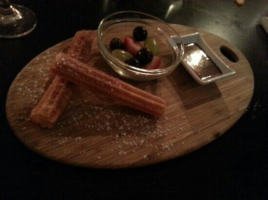 Fish Dish: my dessert