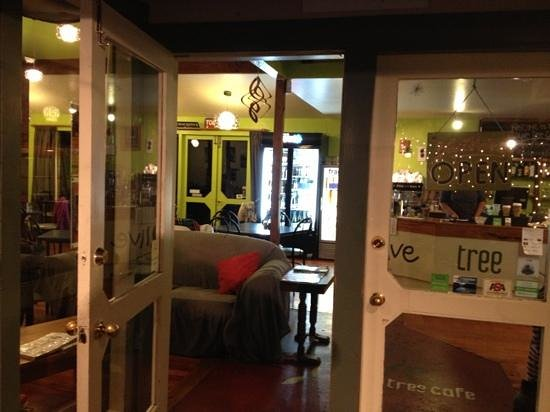 Olive Tree Cafe: Eingang