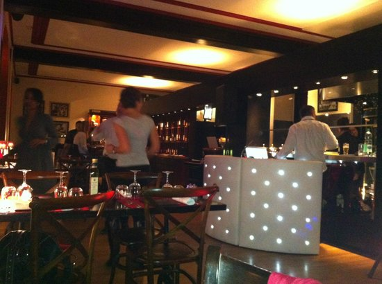 Restaurant La Broche: disco