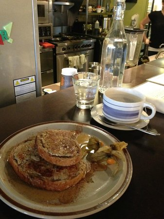 Gratitude Cafe: french toast and london fog