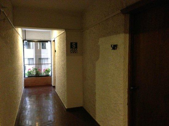 Hotel Ariosto: Pasillo Piso 5