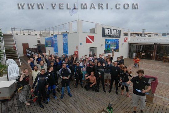 Vellmari Diving Center: Formentera, Velmari, Instalaciones