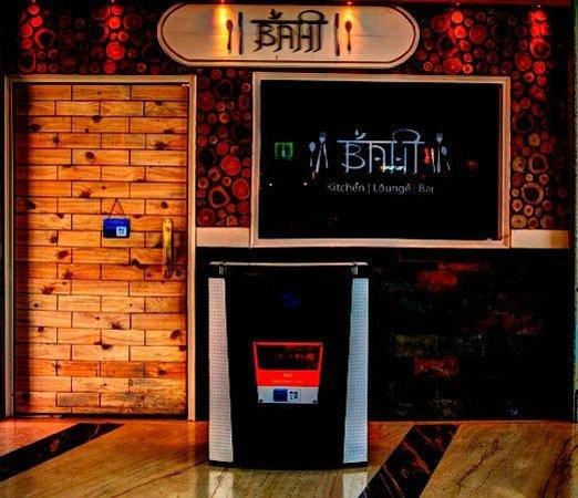 Bahi Kitchen Lounge Bar: Entrance View