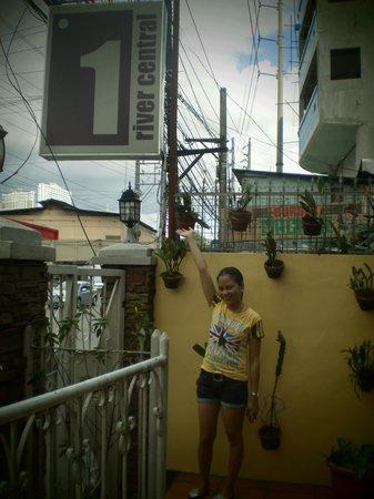 1 River Central Hostel: Taken last March 16, 2013