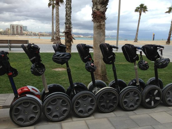 Segway Tour of Barcelona - Picture of Barcelona Segway ...