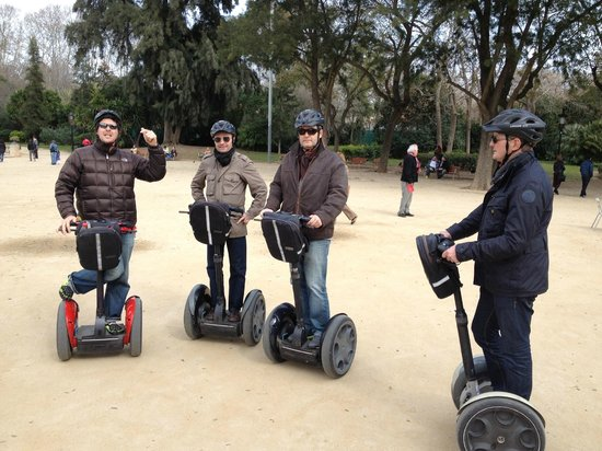Segway with Edgar - Picture of Barcelona Segway Glides ...