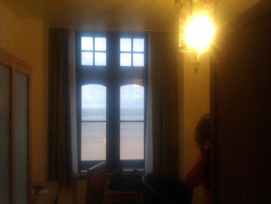 Hotel Villa Select : Frontaal zeezicht