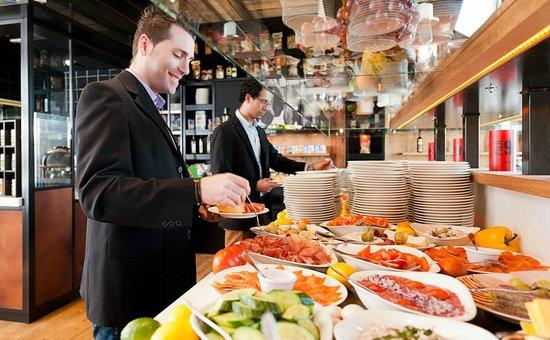 Pier 99: Frühstücksbereich