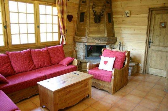 Chalet Alpine Refuge: Lounge