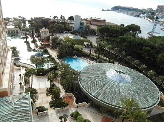 Monte-Carlo Bay & Resort: Vista camera su laguna