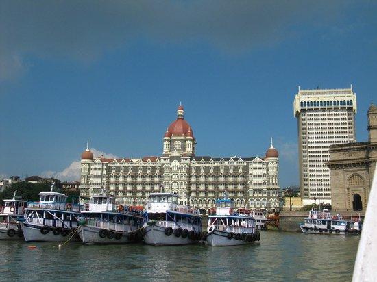 The Taj Mahal Palace, Mumbai: From the boat to elephanta
