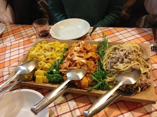 Ristorante pochi ma buoni in roma con cucina cucina romana for Menu cucina romana