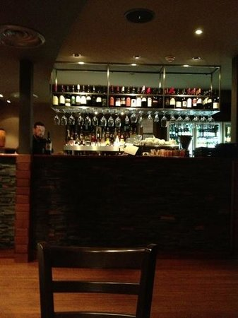 Rare Steakhouse Downtown: the bar