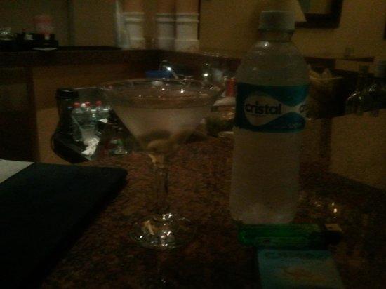 valentin imperial riviera maya martinis at la teraza bar
