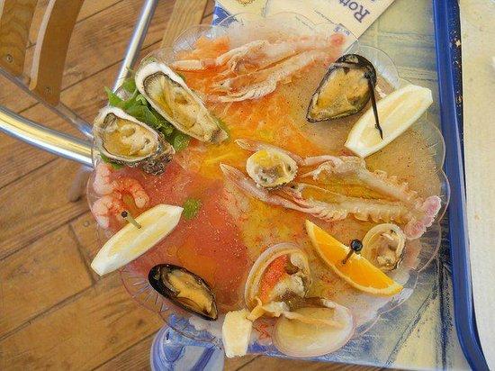 Poseidonia Cooperativa Pescatori del Circeo : crudite' poseidonia