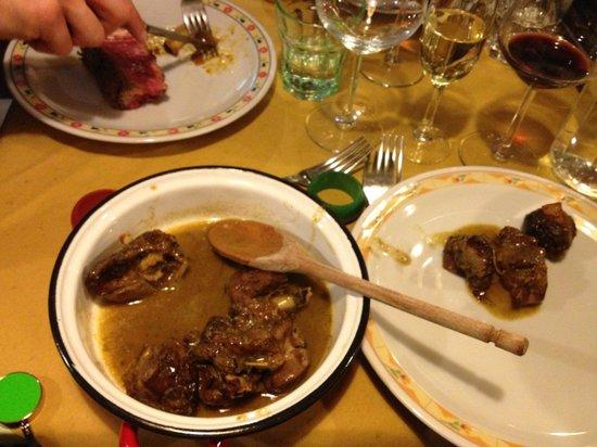 La Sosta di Pio VII: agnello al vinsanto