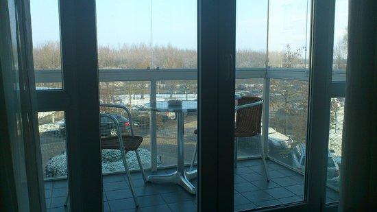 Welcome Hotel  Wesel: Aussicht vom Balkon