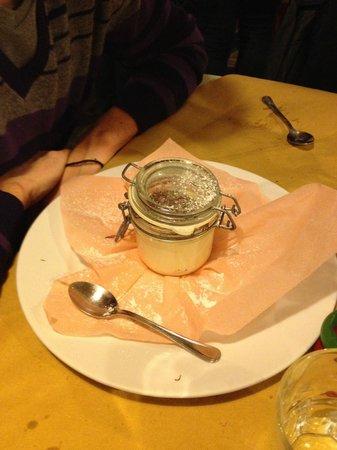 La Sosta di Pio VII: mascarpone con nutella: che bontà!!!