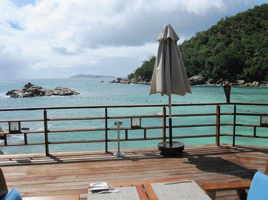 Constance Lemuria: Blick vom Beachrestaurant
