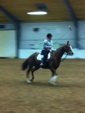 J F Polo Academy: INDOOR LESSON WINTER 2012