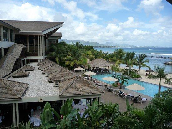 InterContinental Mauritius Resort Balaclava Fort: View from lobby