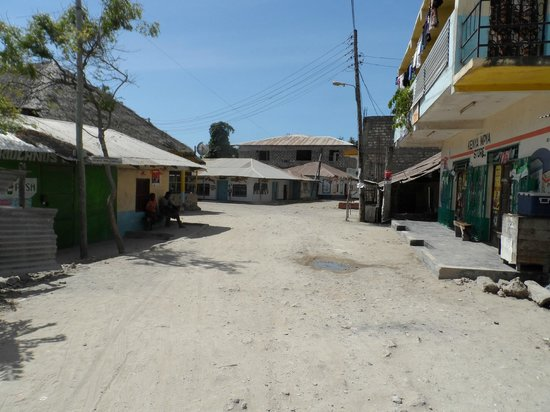 Turtle Bay Beach Club: Watamu main street