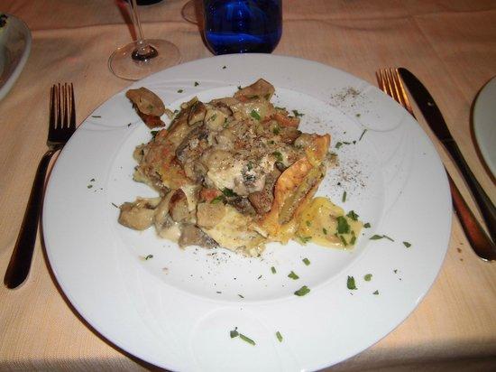 La Tana del Lupo : Lasagne alla boscaiola, le mie preferite!!!!