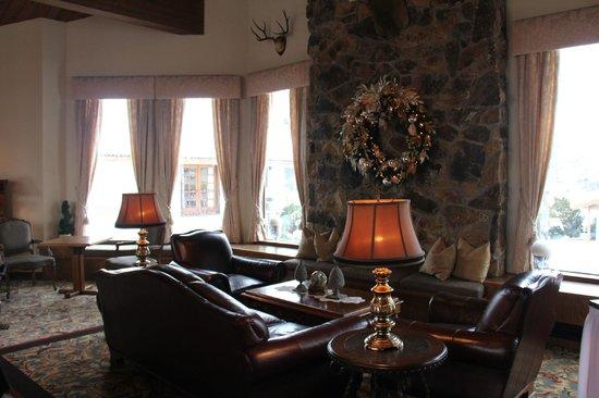 Enzian Inn: first floor